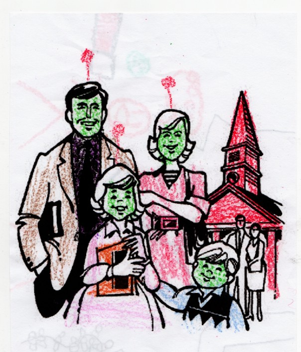 Aliens at Church002
